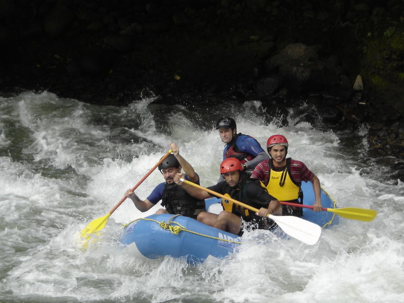 Rafting In Cahabón